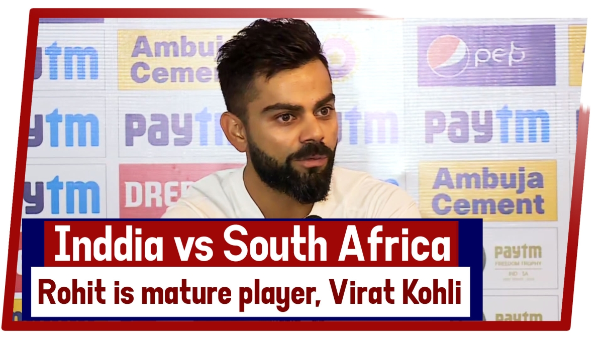 IND vs SA: Rohit Is Mature Player, He Knows What Situation Demands: Virat Kohli