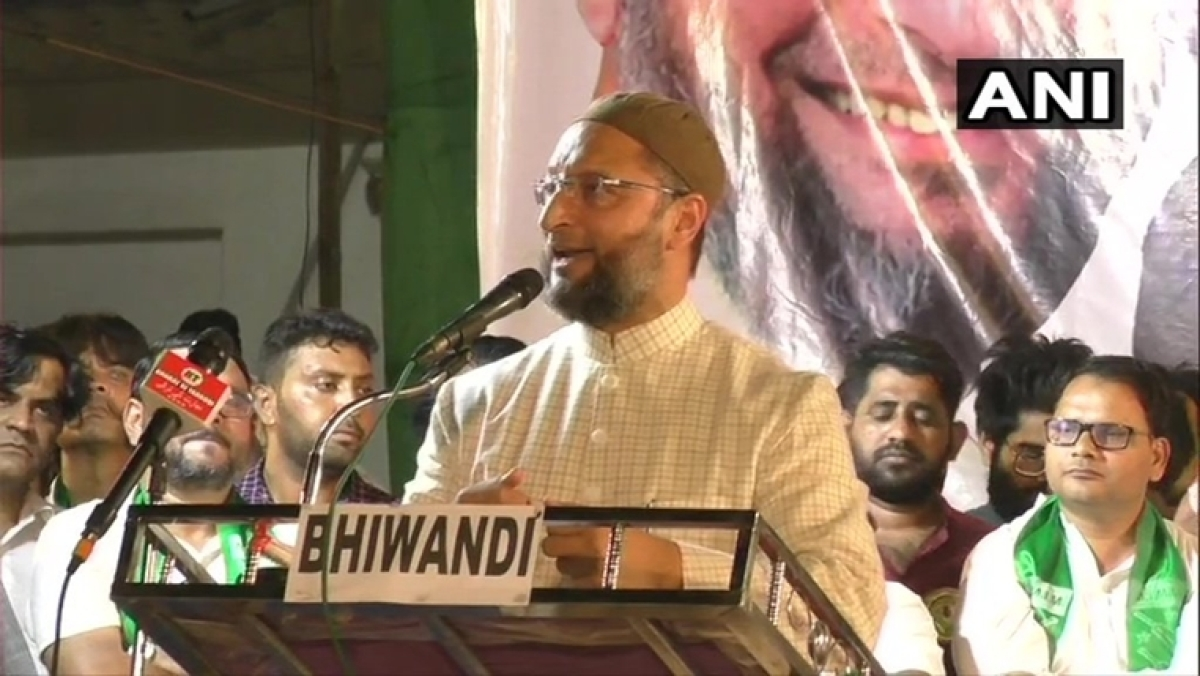 """Bharat is not a Hindu Rashtra!"" says AIMIM president during election rally"
