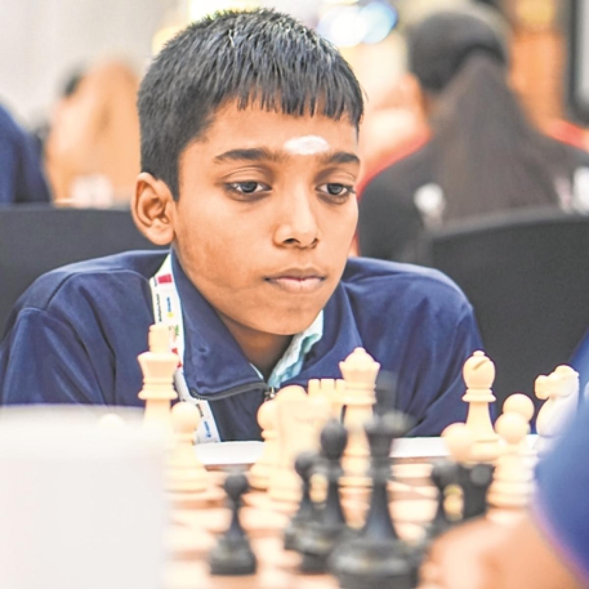 R Praggnanandhaa makes a comeback!