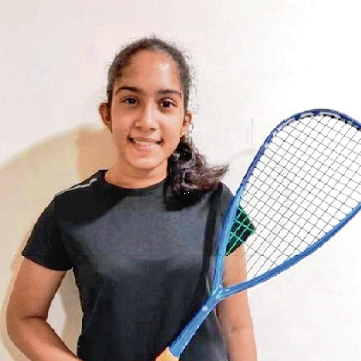 Sarah Vethekar survives scare in Open Squash Championships