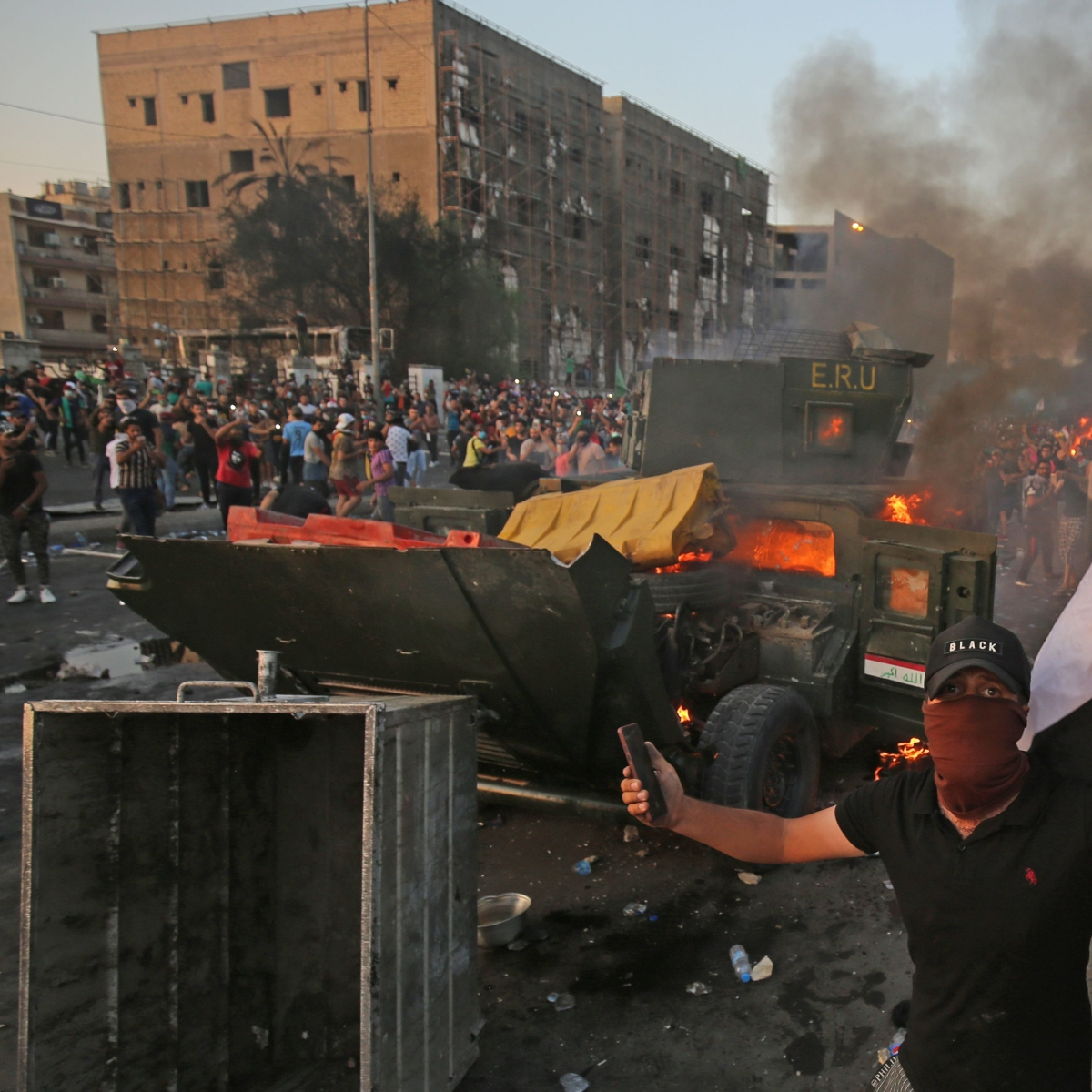 Death toll increases to 93 with 4,000 injured in Iraq protests