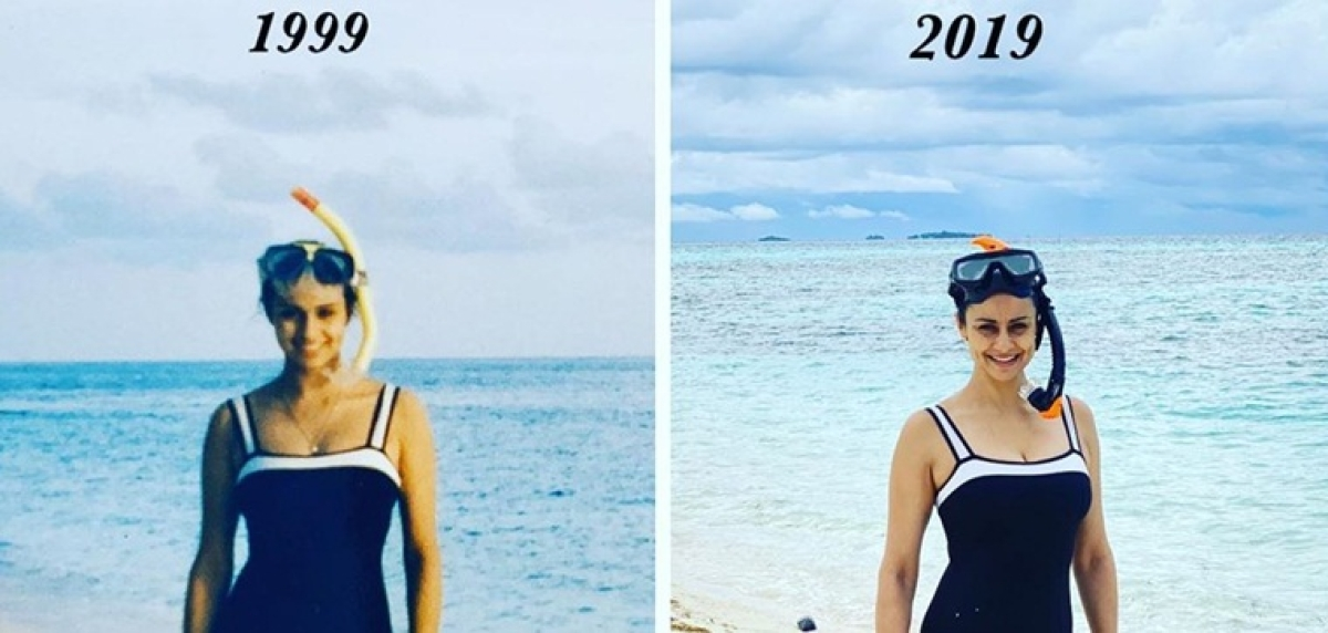 Netizens stunned as Gul Panag wears her 20-year-old monokini from Maldives vacay