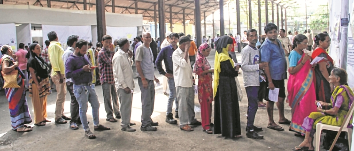 Maha Election 2019: Low turnout in Bandra W; seniors exercise their right, youths abstain