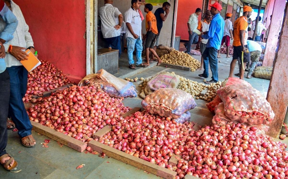 Maharashtra: Farmers halt onion auction