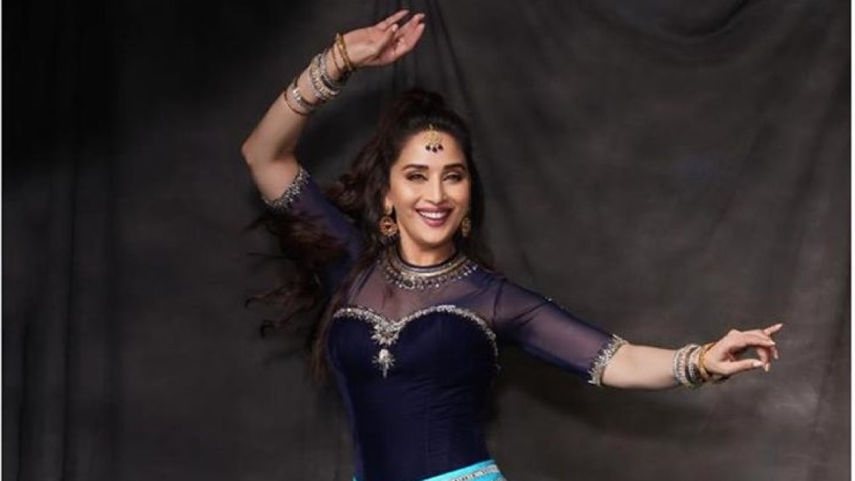 Madhuri Dixit makes YouTube debut with IIFA 2019 BTS video