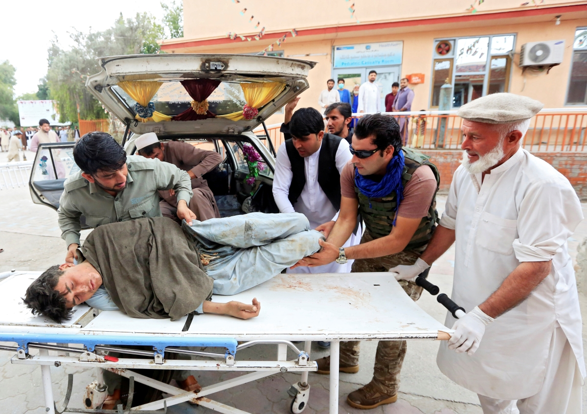 Afghanistan: Blast at Jalalabad mosque kills 62