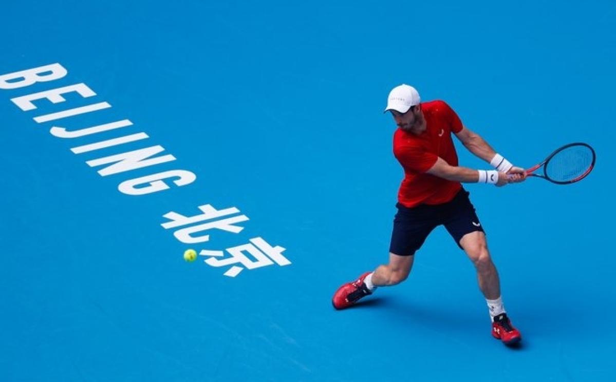 Andy Murray enters Beijing last 8
