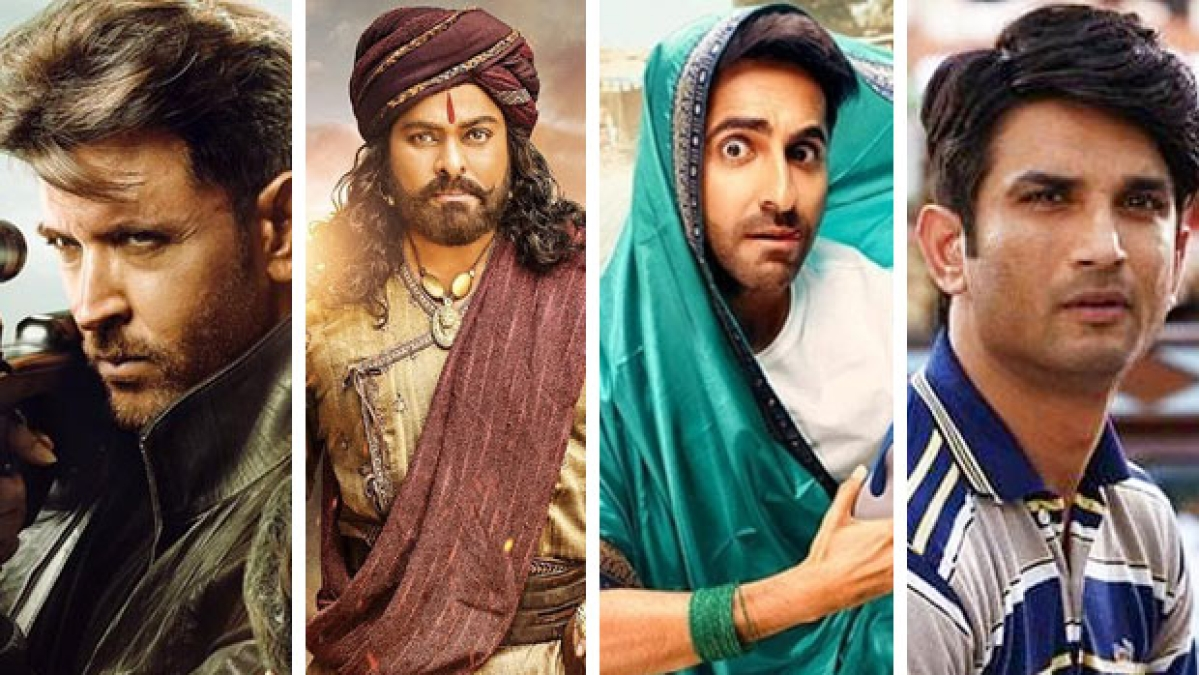Hrithik-Tiger's 'War' wins the exhibition battle over 'Sye Raa Narasimha Reddy'