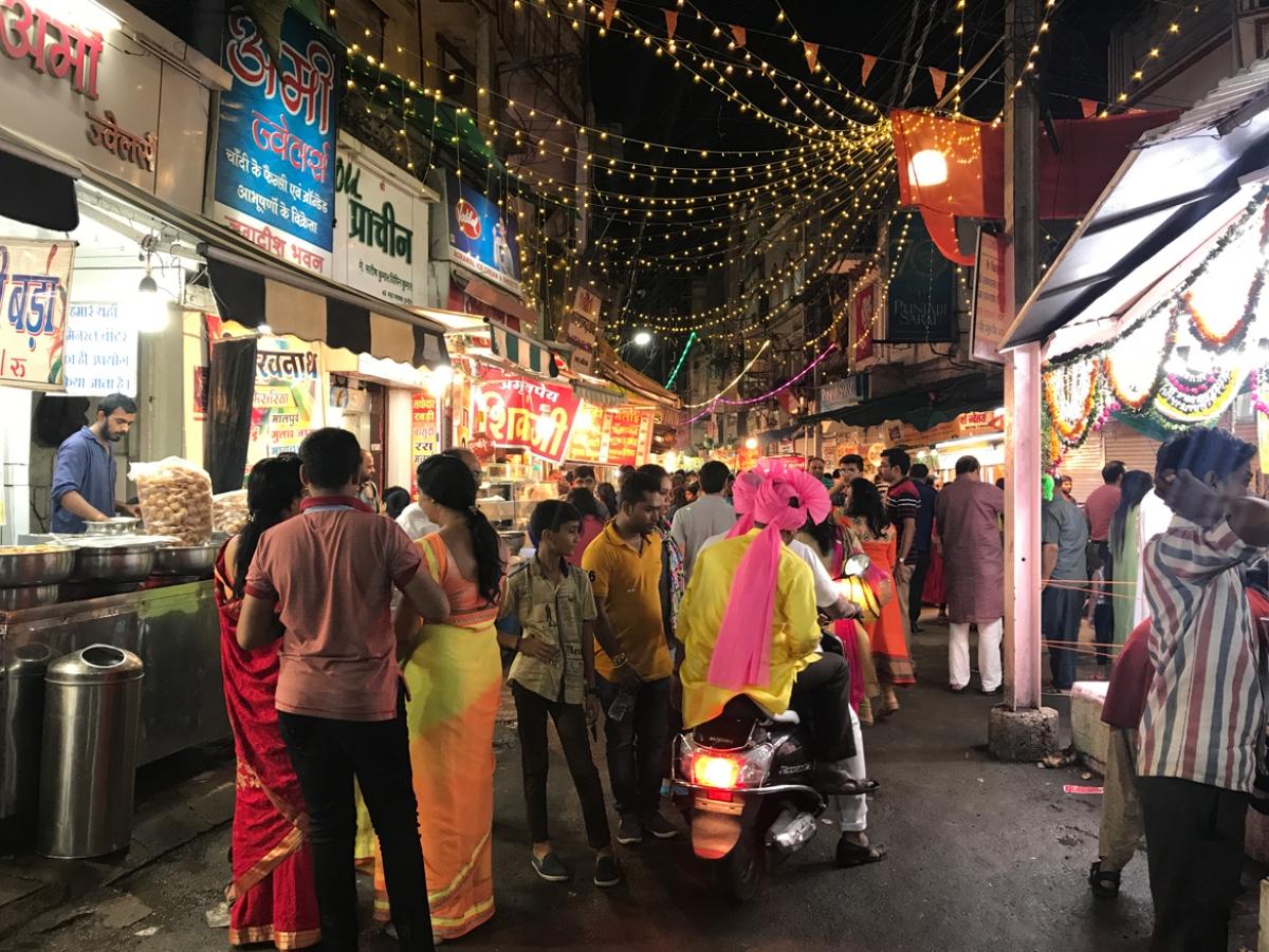 Indore: Sarafa eyes Clean Street Food Hub tag