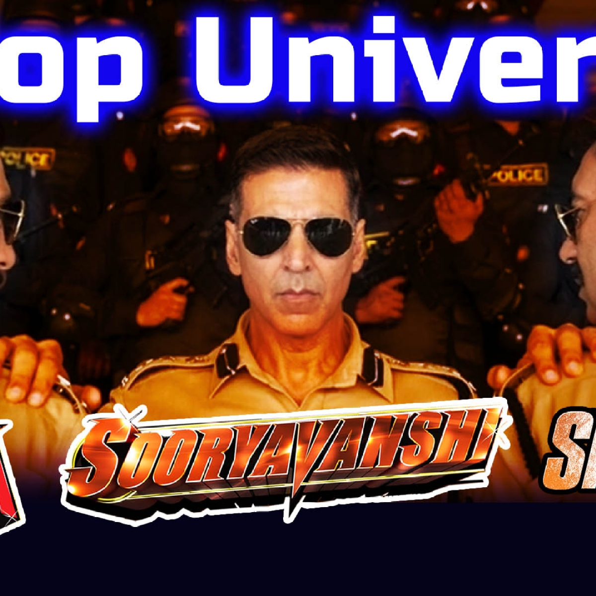Singham, Simmba, Sooryavanshi: Meet The 'Desi Avengers' Of Cop Universe
