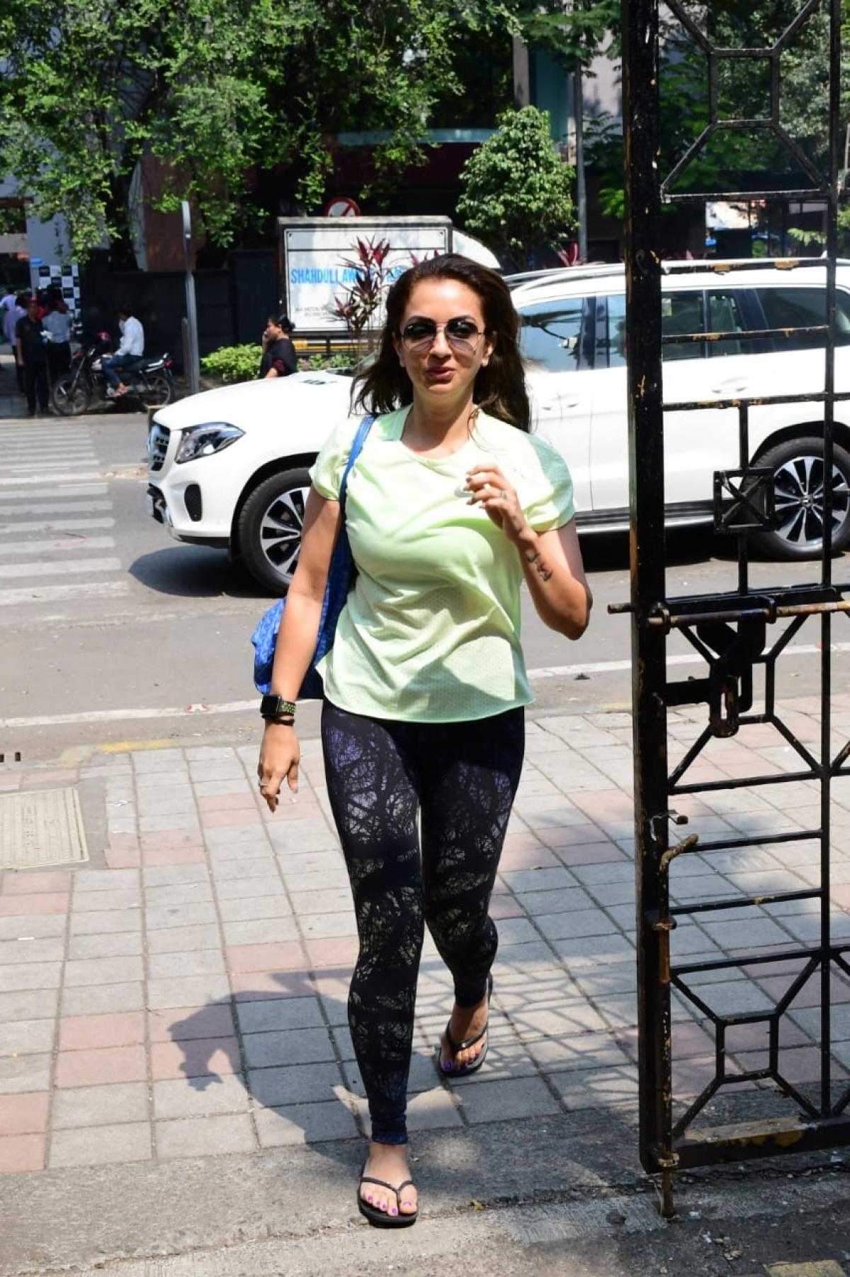 Sohail Khan's wife Seema Khan at Diva Yoga