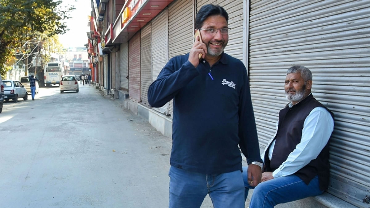 Jammu & Kashmir  social media ban removed ,  mobile internet speed continues to run on 2G