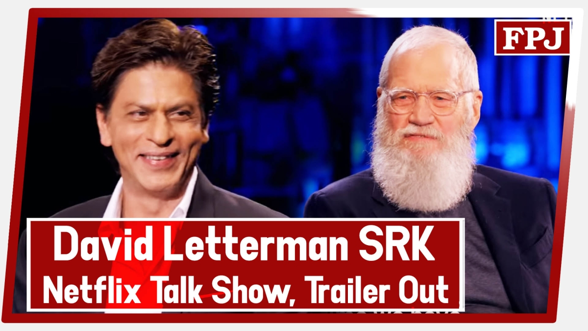 David Letterman ft. Shah Rukh Khan On Netflix Talk Show, Trailer Out