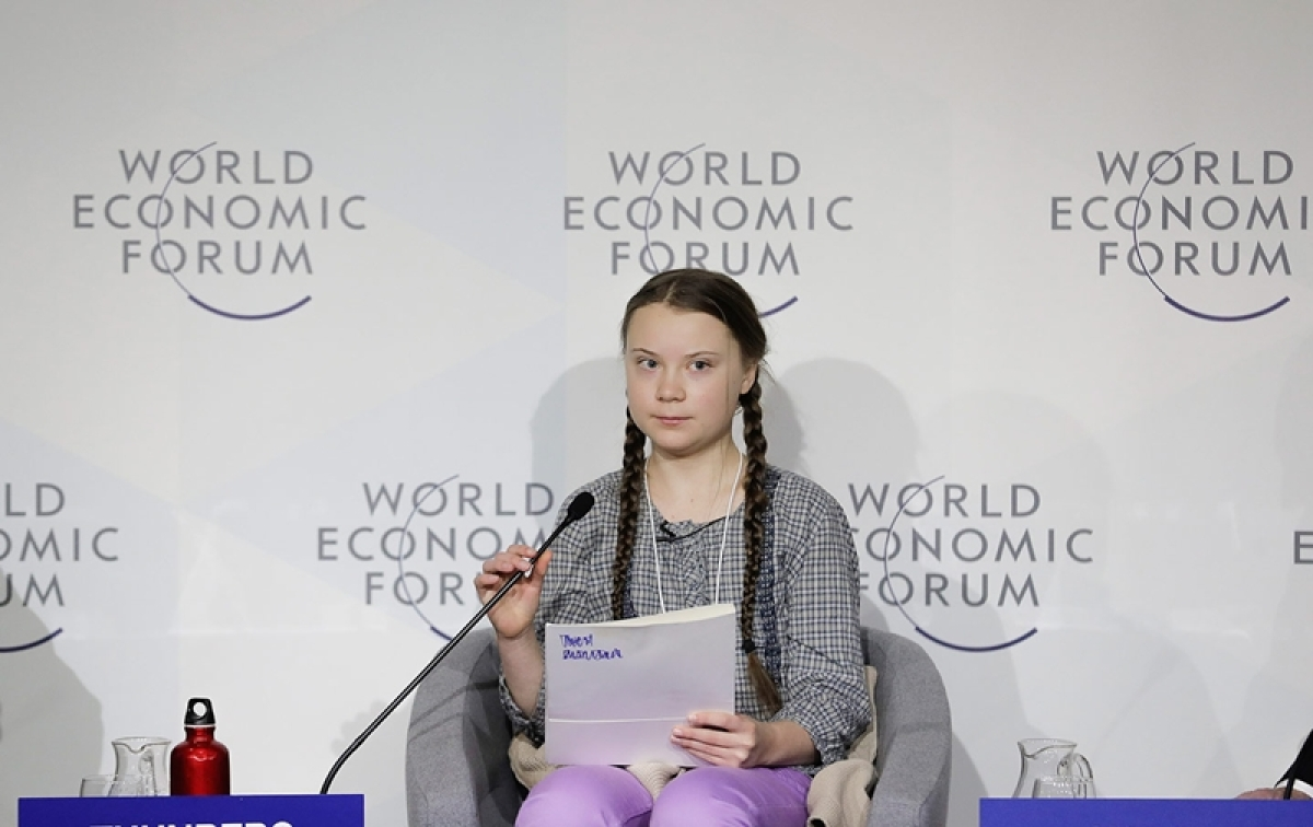 """""""We cannot solve a crisis without treating it as a crisis. And if solutions  within the  system are so impossible to find, then maybe we should change the  system itself."""" — Greta Thunberg"""