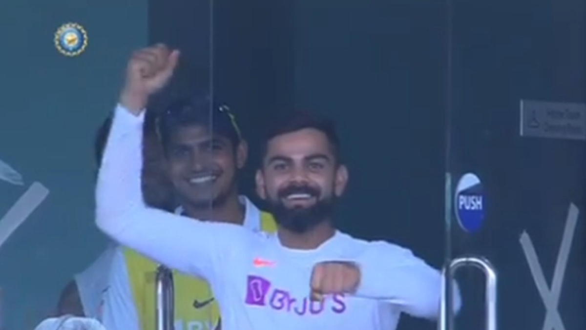 India vs South Africa: Watch Virat Kohli take Jadeja's signature sword celebration to the next level