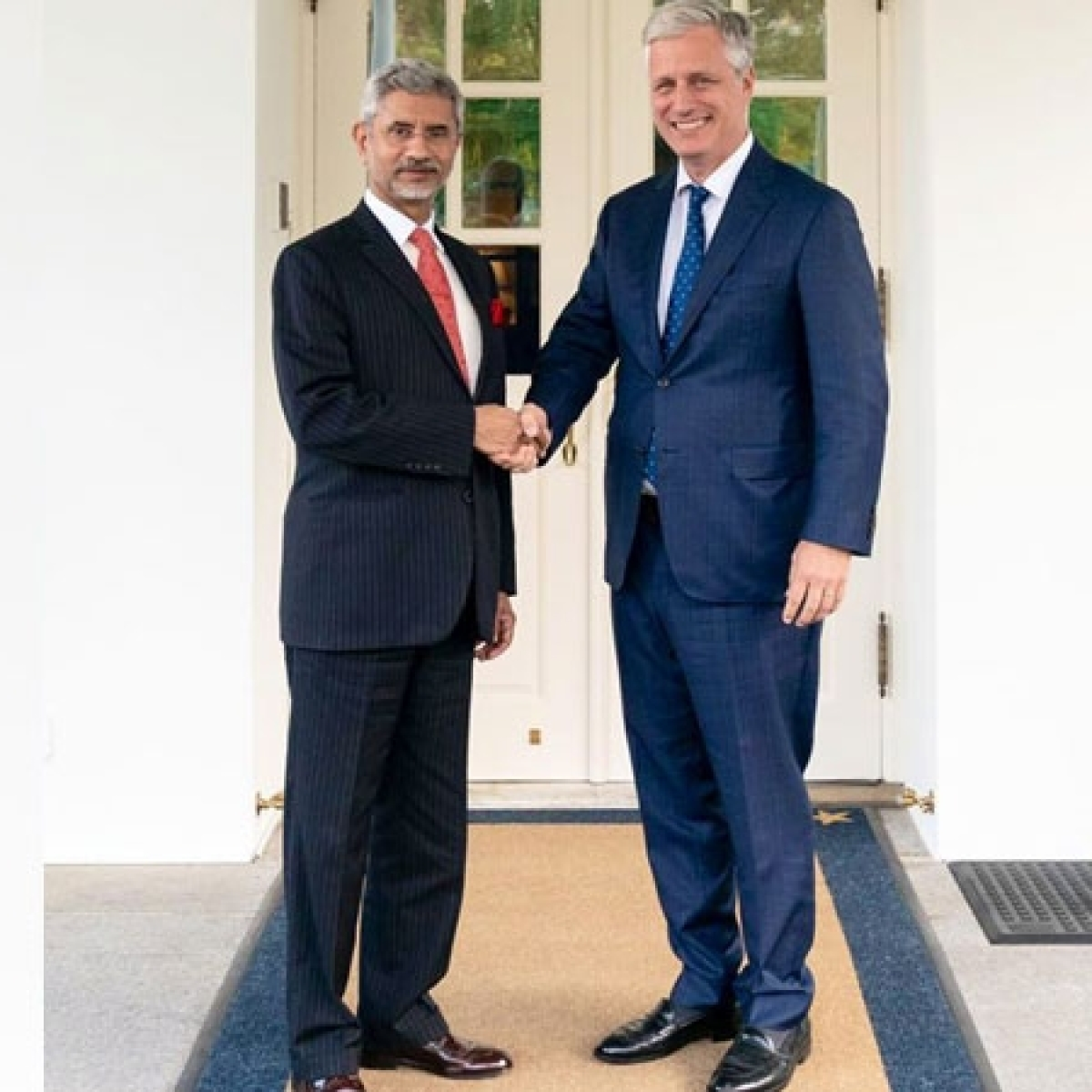 EAM S Jaishankar meets US National Security Advisor Robert O'Brien