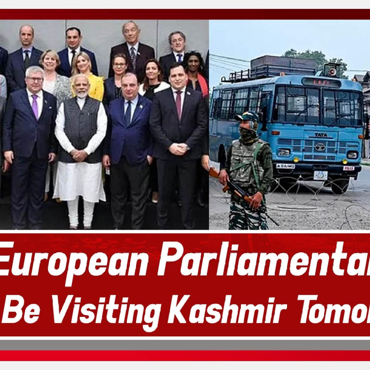 28-member delegation from European Parliament to visit Kashmir, meet PM Modi