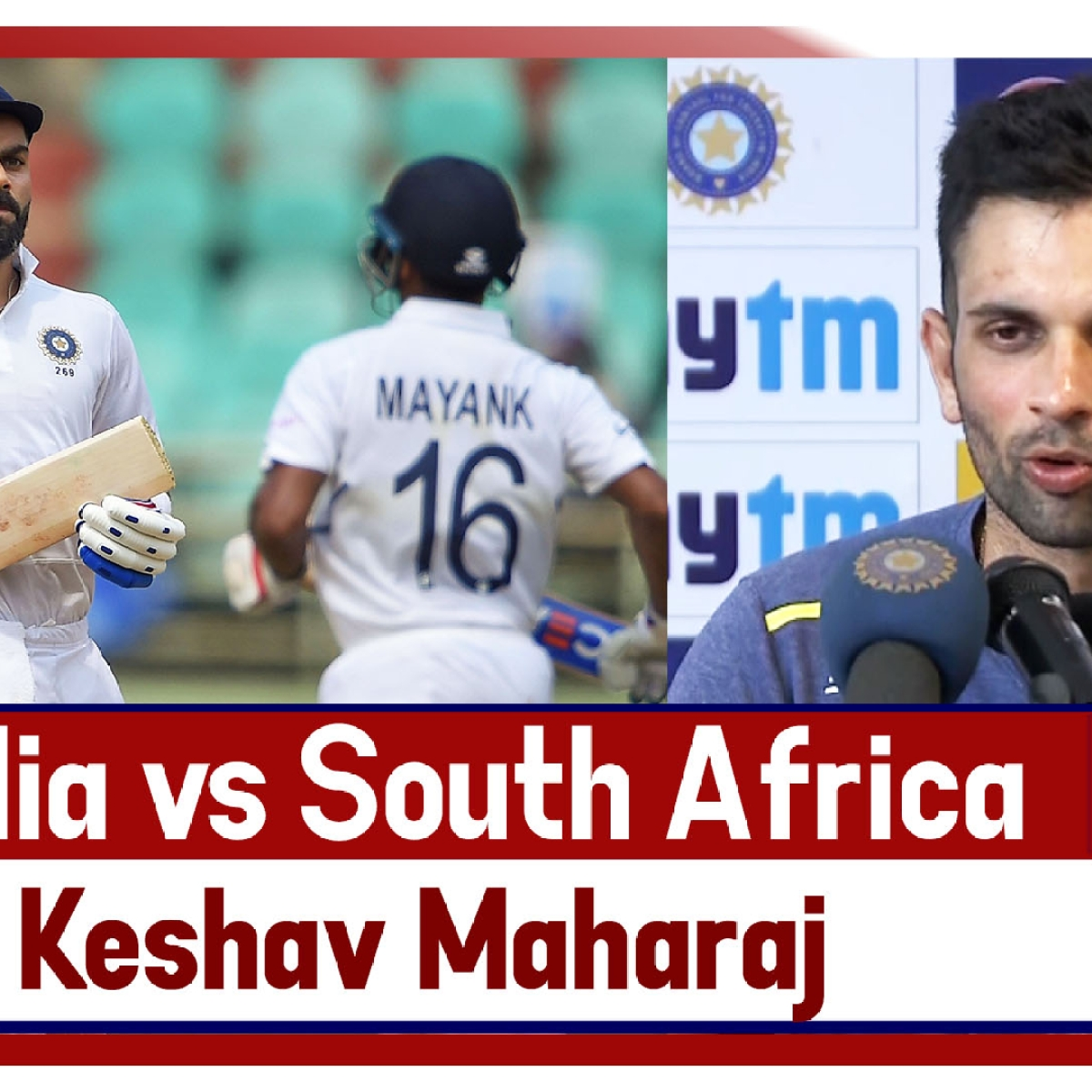 Ind vs SA: 'Game Didn't Go According To Plan In Terms Of Bowling,' Says Keshav Maharaj