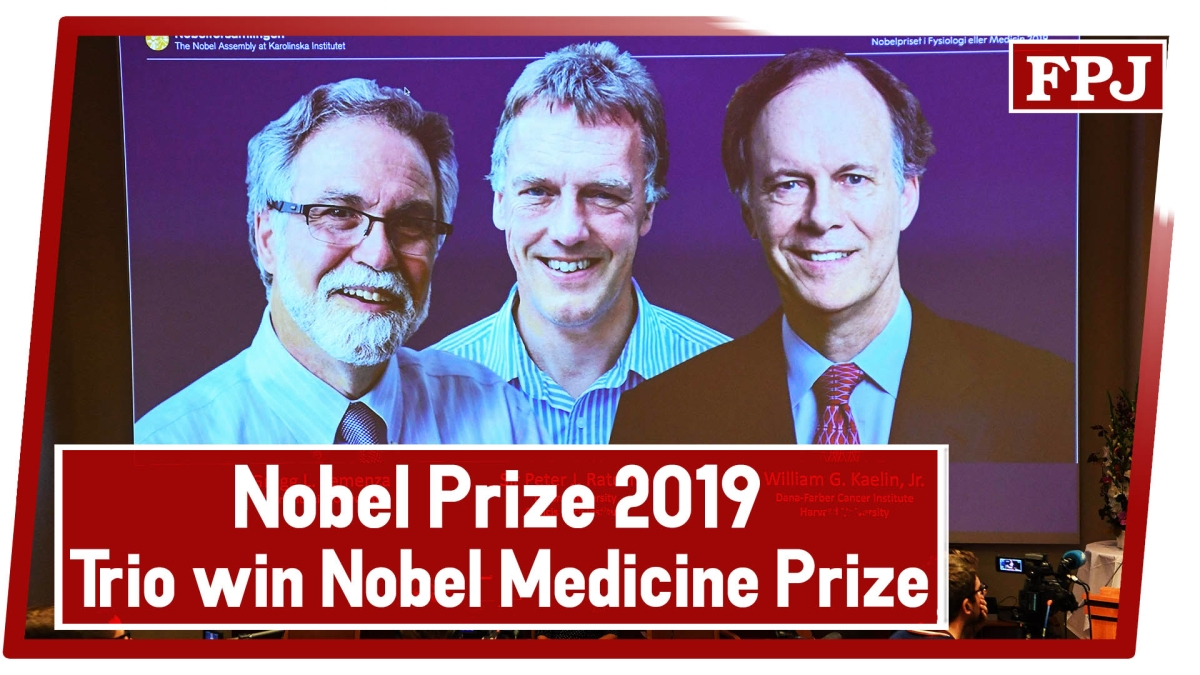 Nobel Prize 2019: Trio Win Nobel Medicine Prize For Discovery On How Cells Sense Oxygen