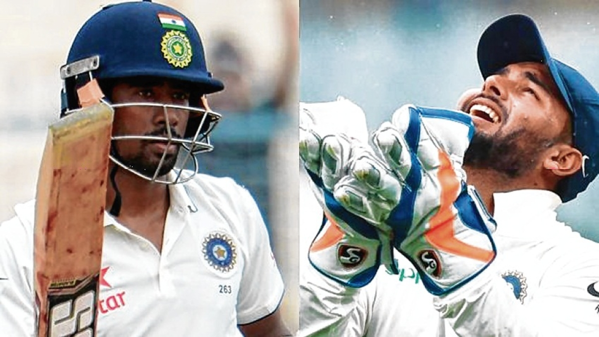 Rohit buckles up, Saha chosen over Rishabh Pant for South Africa test series