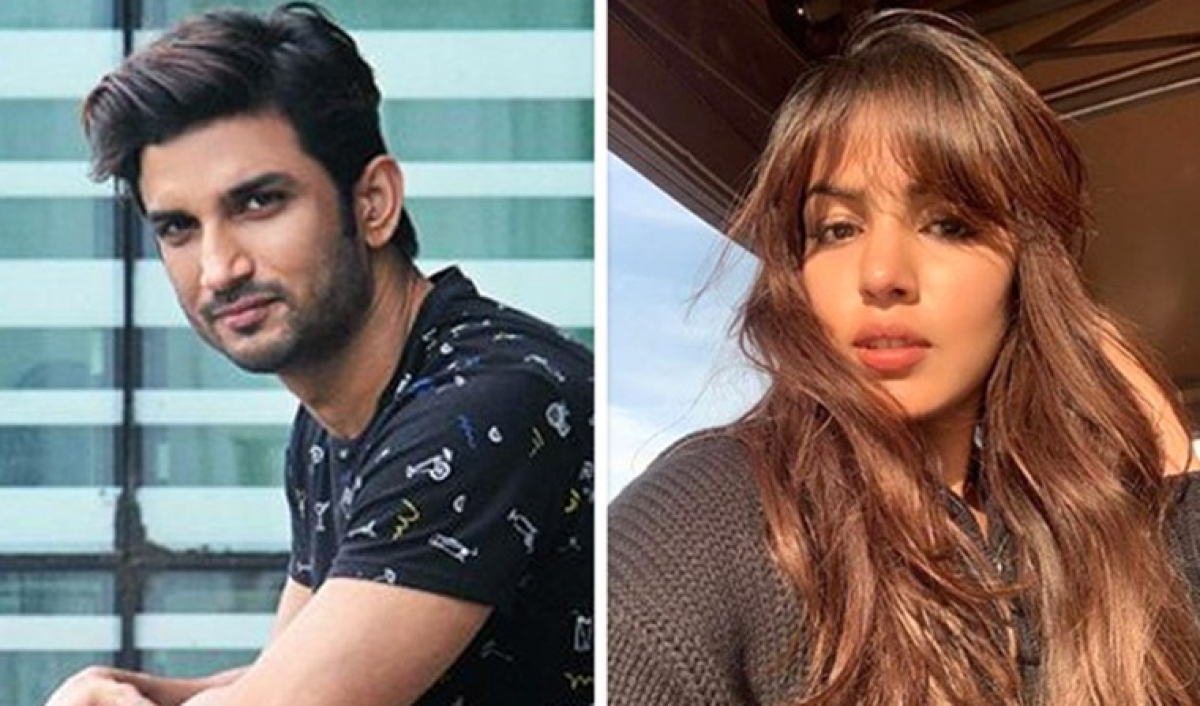 Sushant Singh Rajput and Rhea Chakraborty share pictures from Paris, keep fans wondering