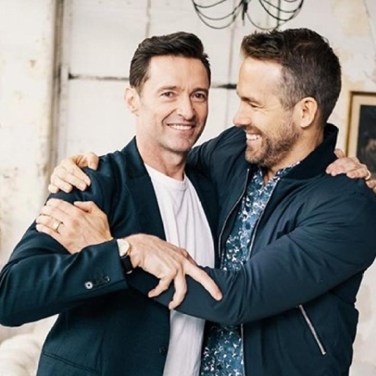 Hugh Jackman congratulates John Legend for 'Sexiest Man Alive' title by roasting BFF Ryan Reynolds