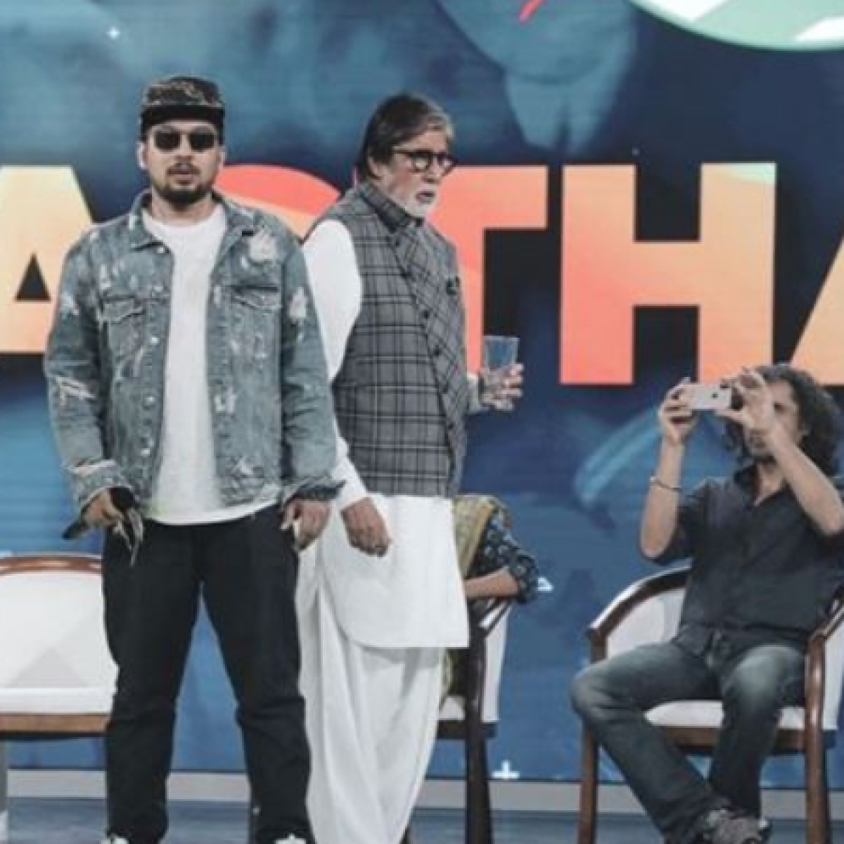 Amitabh Bachchan grooves to the tune of real 'Gully Boy' Naezy