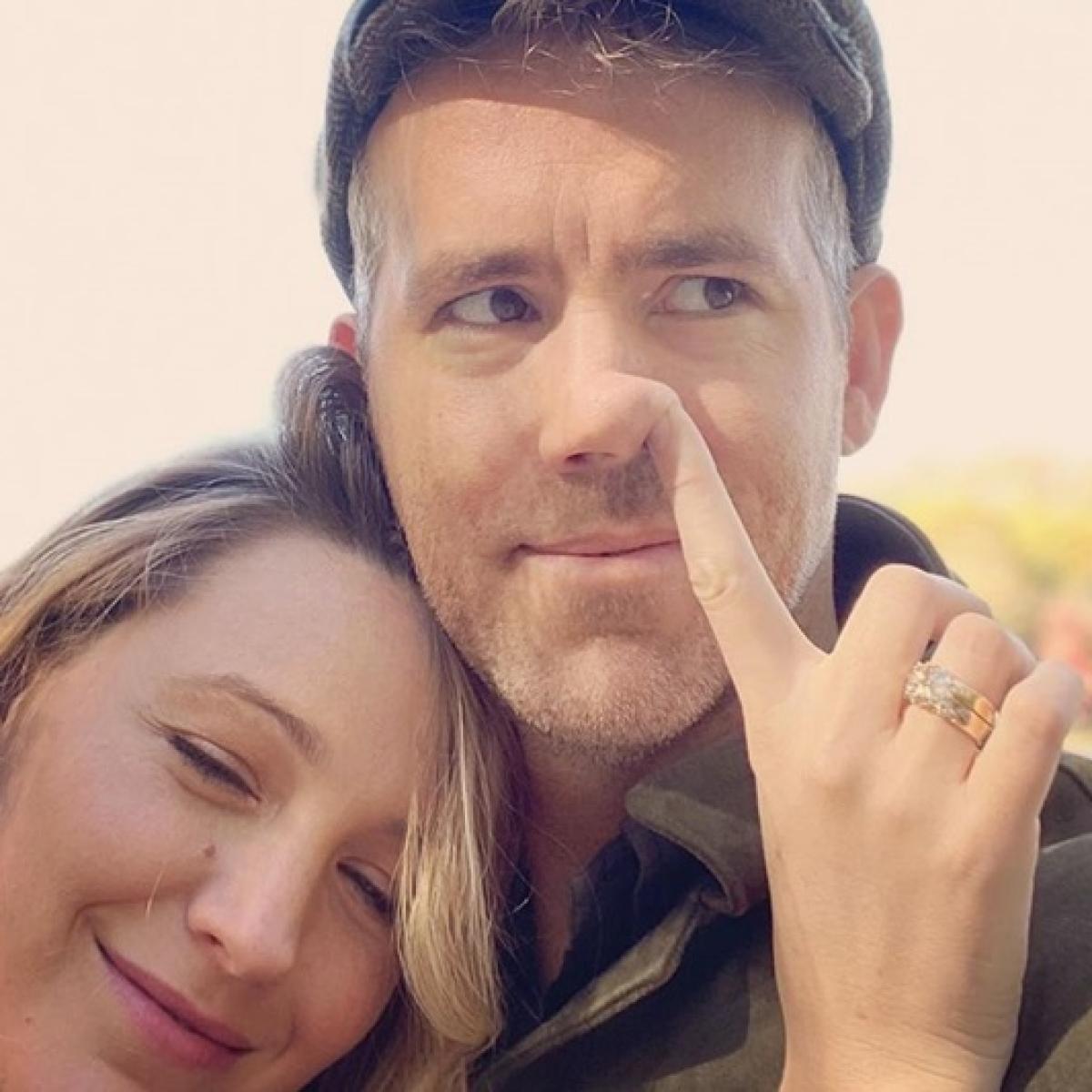 Ew! Blake Lively picks husband Ryan Reynolds' nose on his birthday