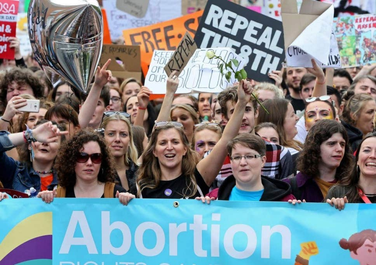 Northern Ireland legalizes gay marriage and abortion; law passed while Stormont was absent