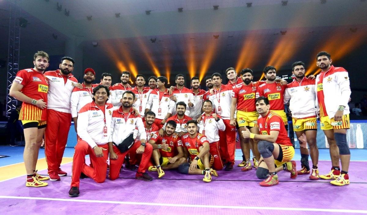 Pro Kabaddi League: Fortunegiants overcome Telugu Titans