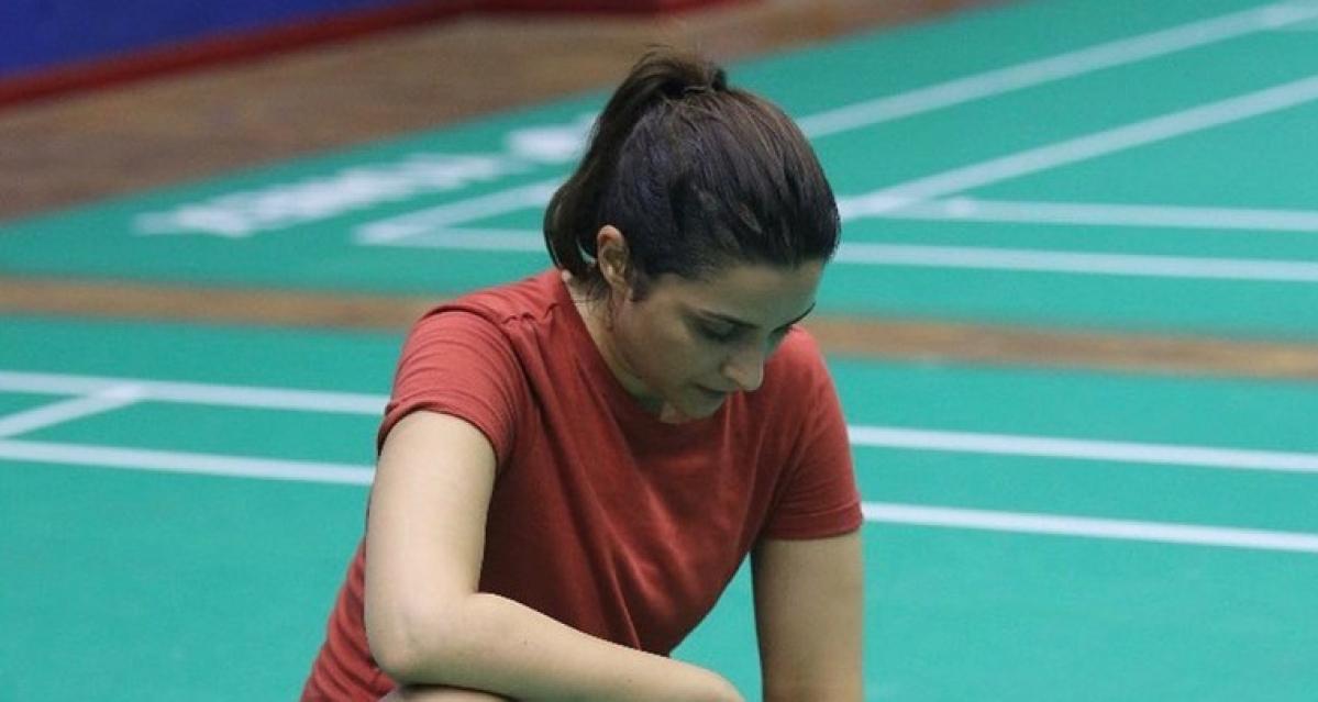 Parineeti Chopra shares intense training session for Saina Nehwal biopic