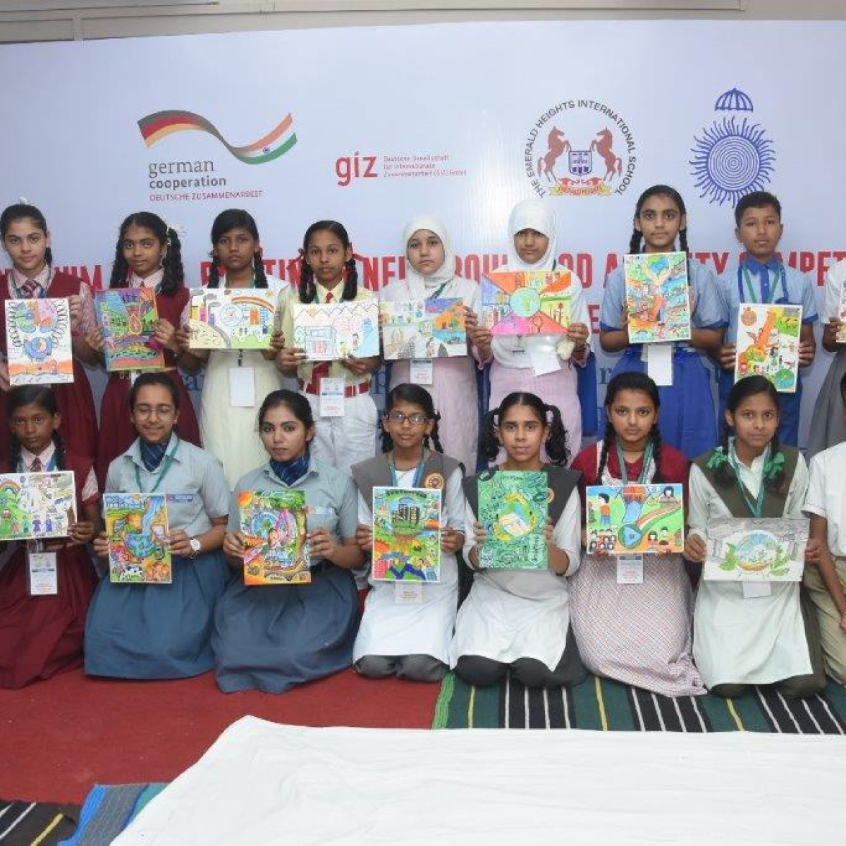 Indore: School students present ideas on sustainable development