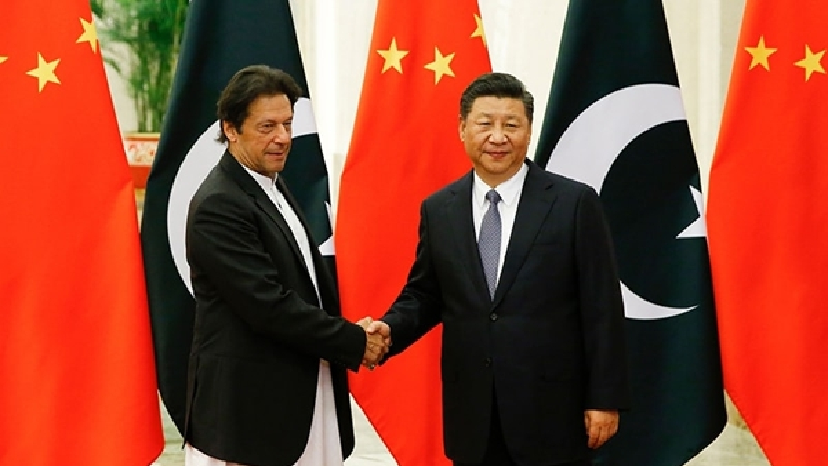 Pakistan PM Imran Khan meets Chinese President Xi Jinping
