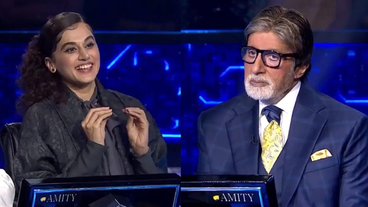 KBC 11: Taapsee Pannu reveals her contribution in Hrithik Roshan-Tiger Shroff starrer 'War'