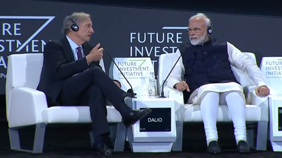Trolls give best opportunity to meditate and be 'like a Ninja': PM Modi after Ray Dalio calls him one of world's best leaders