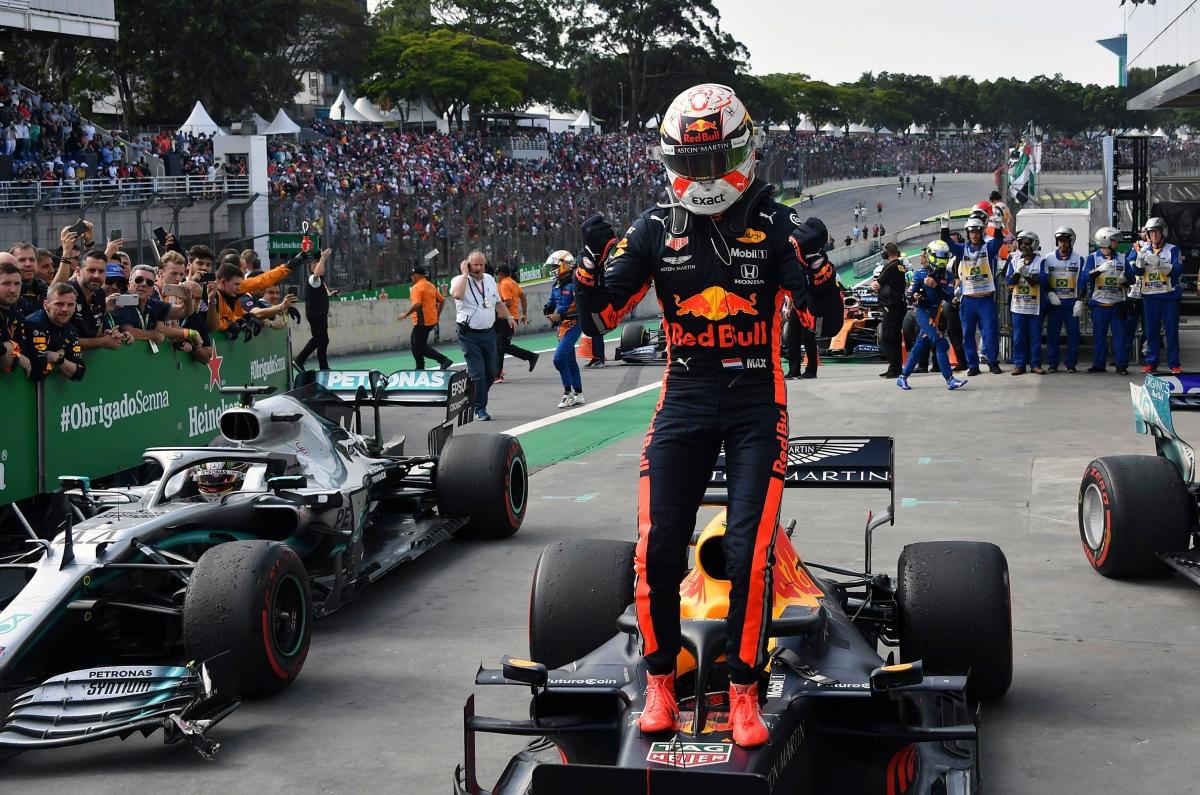 Speed Guage: Max Verstappen wins F1 Brazil Grand Prix