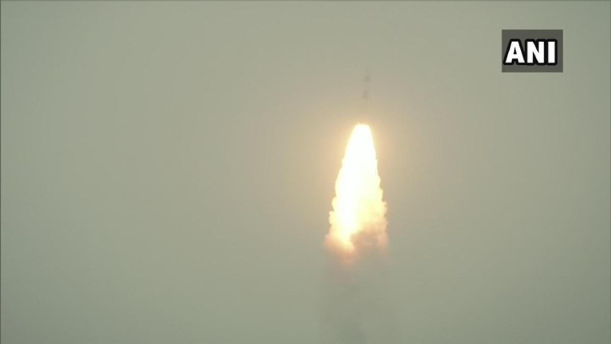 ISRO launches PSLV-C47 carrying Cartosat3 and 13 other US nano-satellites