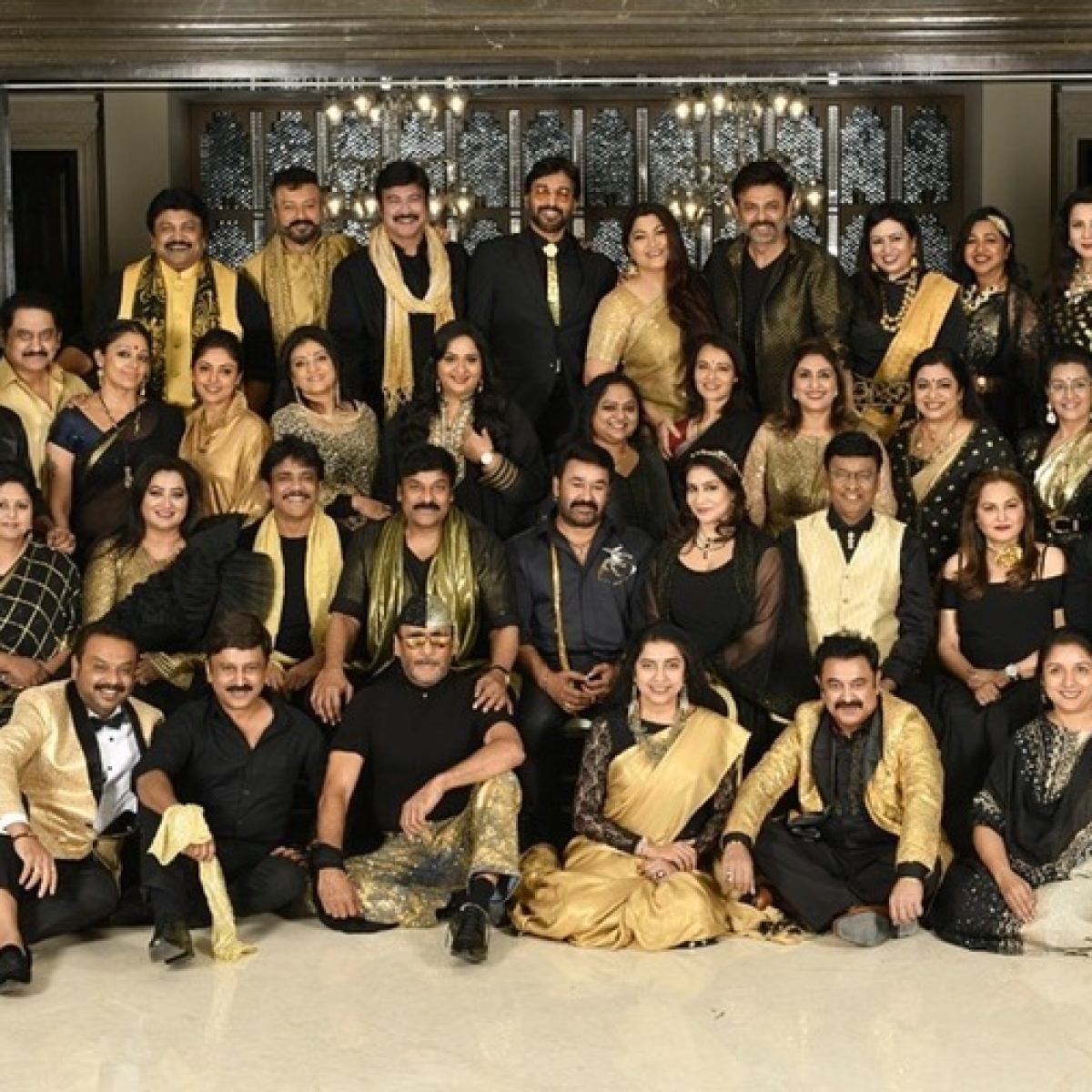 Nagarjuna, Jackie Shroff and other celebs join Chiranjeevi's 80's Reunion