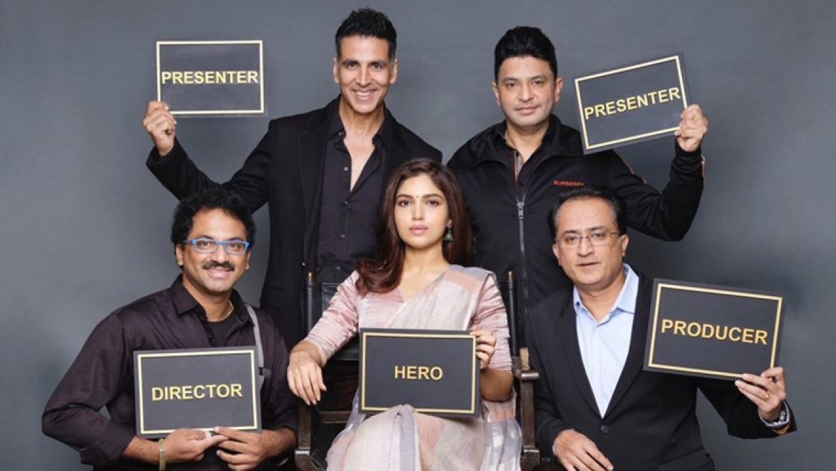 Akshay Kumar announces next venture 'Durgavati' starring Bhumi Pednekar, is this the 'Bhaagamathie' remake?