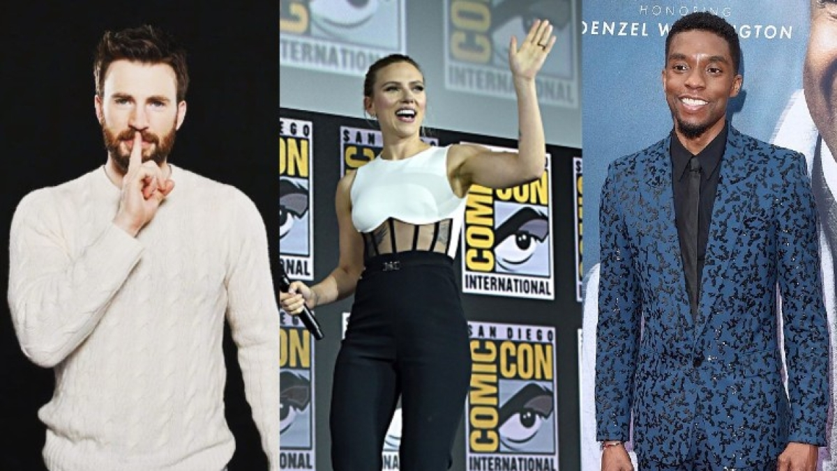 Scorsese-Marvel controversy: Scarlett Johansson, Chris Evans, Chadwick Boseman weigh in