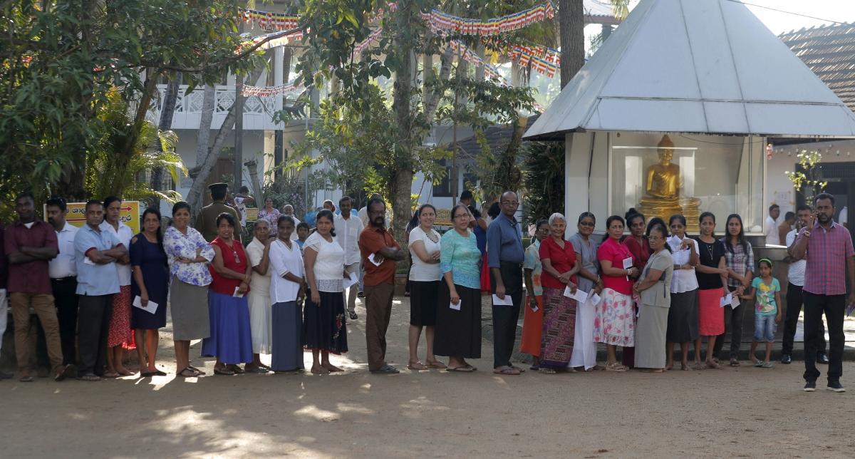Sri Lanka votes for new President