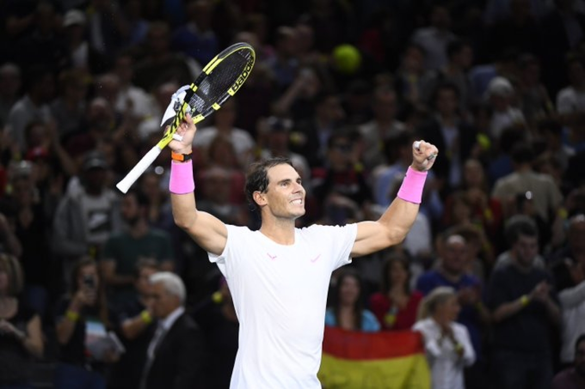 Nadal, Djokovic advances through quarters of Paris Masters
