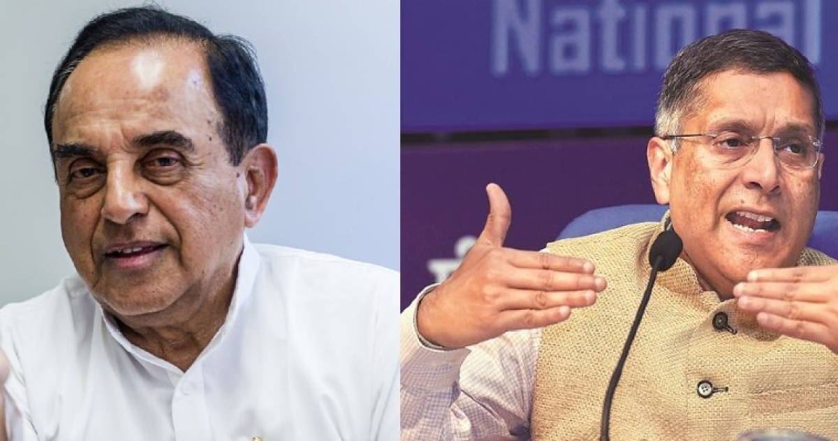 Not even 4.5%: Subramanian Swamy and Arvind Subramanian think GDP growth is even lower