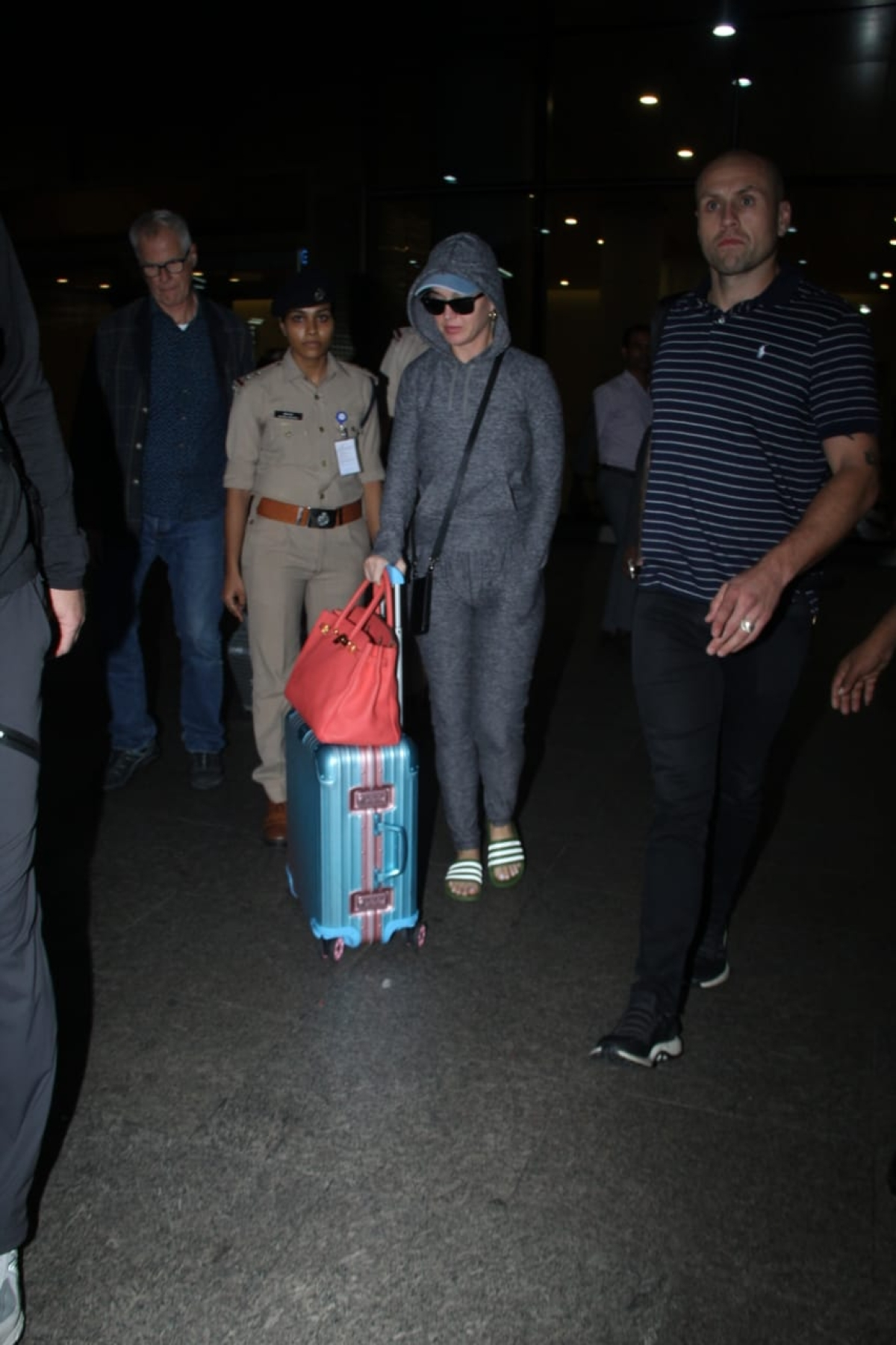 Katy Perry arrives in Mumbai and is all set to 'ROAR' at the OnePlus Music Festival