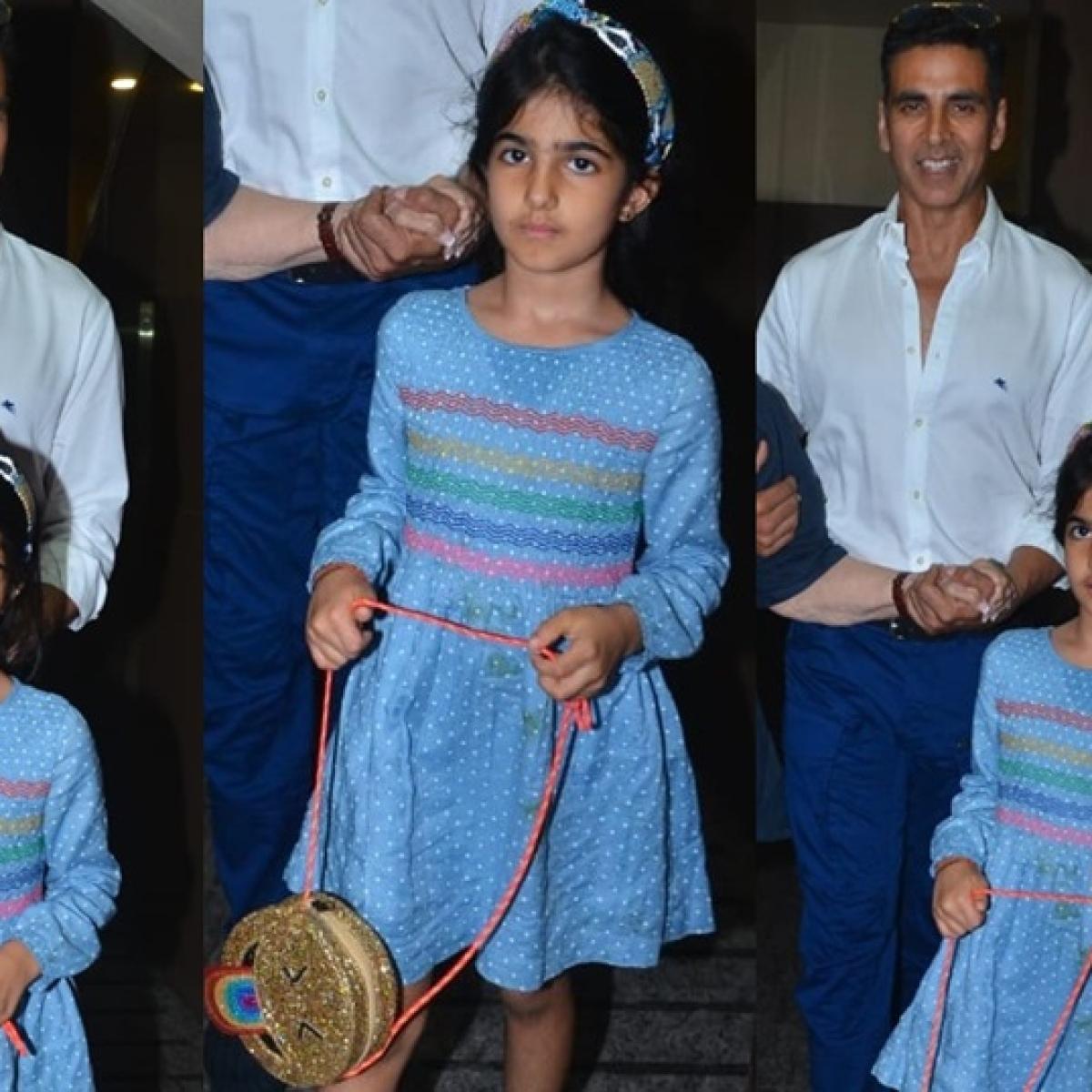 Akshay Kumar's daughter Nitara is already setting fashion goals with her extraordinary sling bag