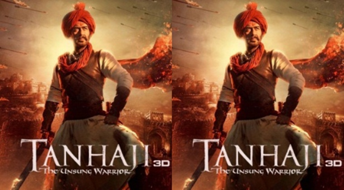 'Tanhaji' new poster: Ajay Devgn looks fierce as Maratha warrior