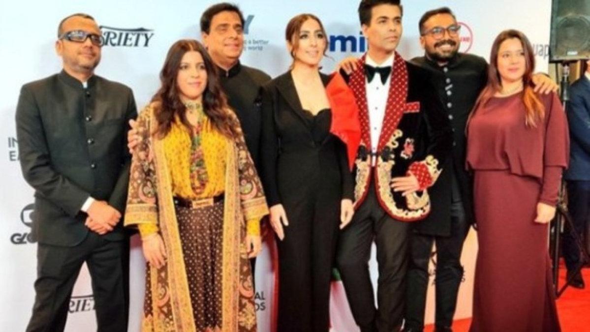 'Lust Stories' at International Emmys 2019: Karan Johar, Zoya Akhtar walk the red carpet in style