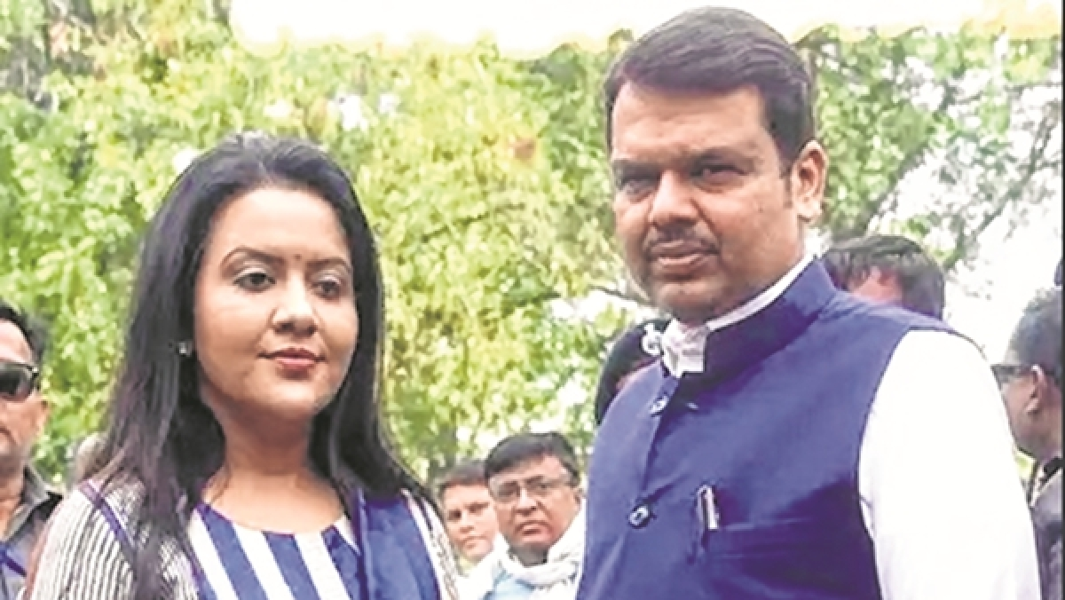 Better sense should prevail: CM Fadnavis's wife on Maharashtra impasse