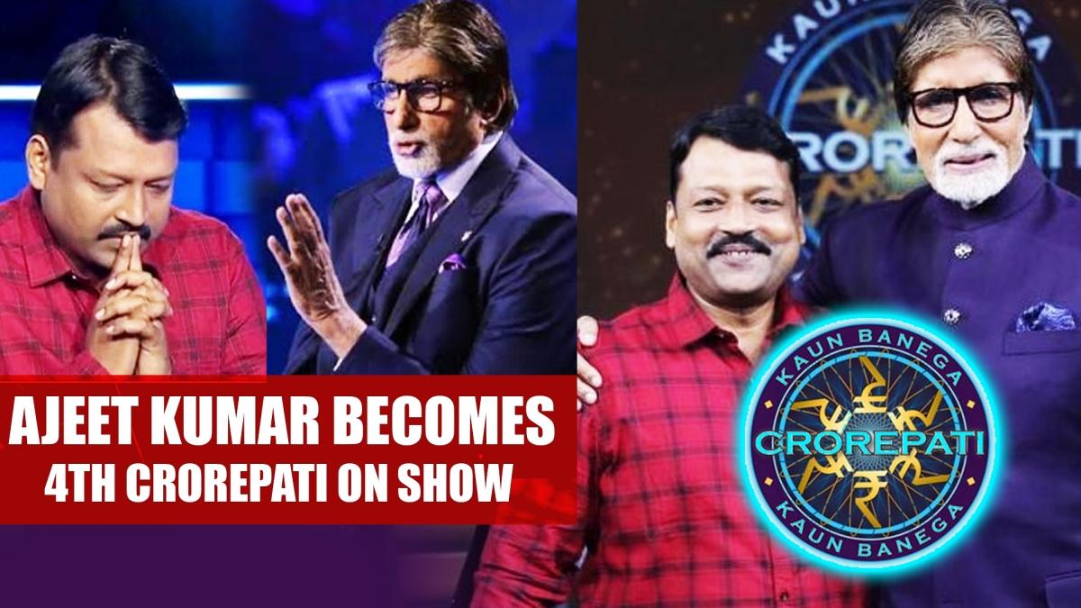 KBC 11: Ajeet Kumar Becomes 4th Crorepati On Amitabh Bachchan's Show