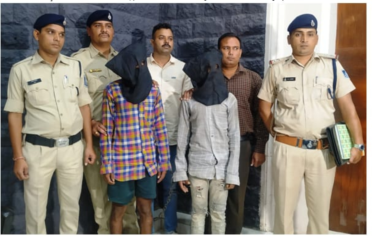 Indore: 2 from Tanda arrested for theft at retired excise officer house